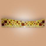 Porta-medalhas (ou colares) em mosaico de vidro