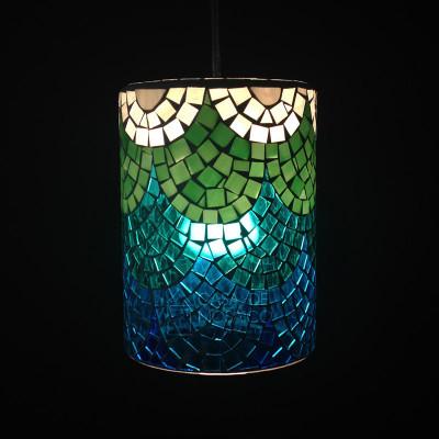 Luminária pendente Ariel em mosaico de vidro