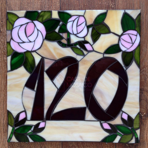 Número de mosaico – 30x30cm