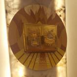 Painel de mosaico para sacrário