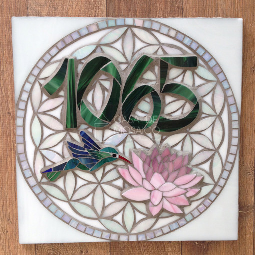 Mandala e número de mosaico