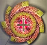 Sacrário de mosaico completo