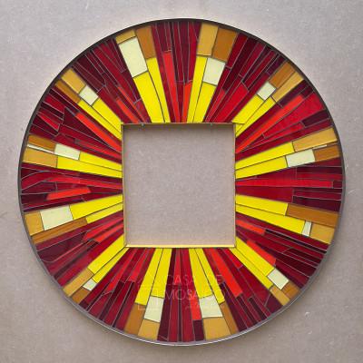 Painel de mosaico para sacrário - 50cm