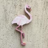 Flamingo de mosaico para decoração