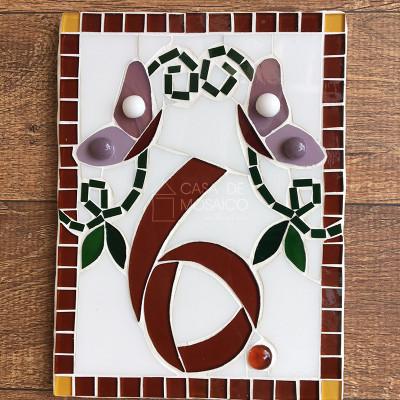 Número de mosaico para residência - numerologia