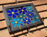 Cabideiro de mosaico